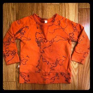 Childhood's Clothing Maps on Orange Crew, 12-18